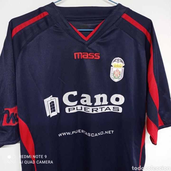 Coleccionismo deportivo: Camiseta fútbol ATLETICO VALLBONENSE - Pobla de Vallbona ( Valencia) - Foto 3 - 262215555