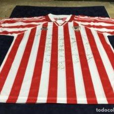 Coleccionismo deportivo: CAMISETA ATHLETIC CLUB DE BILBAO KAPPA FIRMADA POR TODOS LOS JUGADORES DE LA PLANTILLA DE AQUELLA ÉP. Lote 262779955
