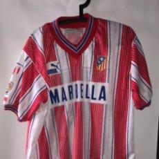 Coleccionismo deportivo: CAMISETA ATLETICO DE MADRID DOBLETE 1996. Lote 263136940