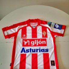 Collectionnisme sportif: CAMISETA ORIGINAL DEL REAL SPORTING DE GIJON ASTORE FUTBOL BUEN ESTADO. Lote 264291128