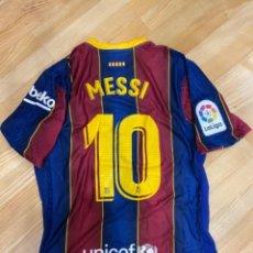Collezionismo sportivo: MESSI FC BARCELONA 20/21 CAMISETA PARTIDO USADA / MATCH WORN SHIRT V GETAFE. Lote 266792519