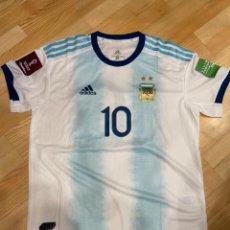 Collezionismo sportivo: MESSI ARGENTINA 20/21 CAMISETA PARTIDO USADA / MATCH WORN SHIRT V PARAGUAY. Lote 266794889