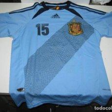 Coleccionismo deportivo: CAMISETA SELECCION ESPAÑOLA. SERGIO RAMOS.15.. Lote 267381909