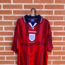 Coleccionismo deportivo: CAMISETA FUTBOL ORIGINAL/OFICIAL INGLATERRA 1998. Lote 268041134