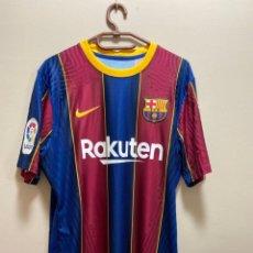 Coleccionismo deportivo: MESSI FC BARCELONA 20/21 CAMISETA PARTIDO USADA / MATCH WORN SHIRT V GETAFE. Lote 268782094