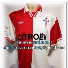 Coleccionismo deportivo: 3 CAMISETAS ORIGINALES CELTA DE VIGO. Lote 268869399