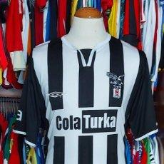 Coleccionismo deportivo: BESIKTAS (BEŞIKTAŞ) AWAY 2005-2006 CAMISETA FUTBOL UMBRO. Lote 268951284
