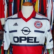 Coleccionismo deportivo: BAYERN MUNICH 1998-1999 AWAY CMAISETA FUTBOL ADIDAS. Lote 268952039