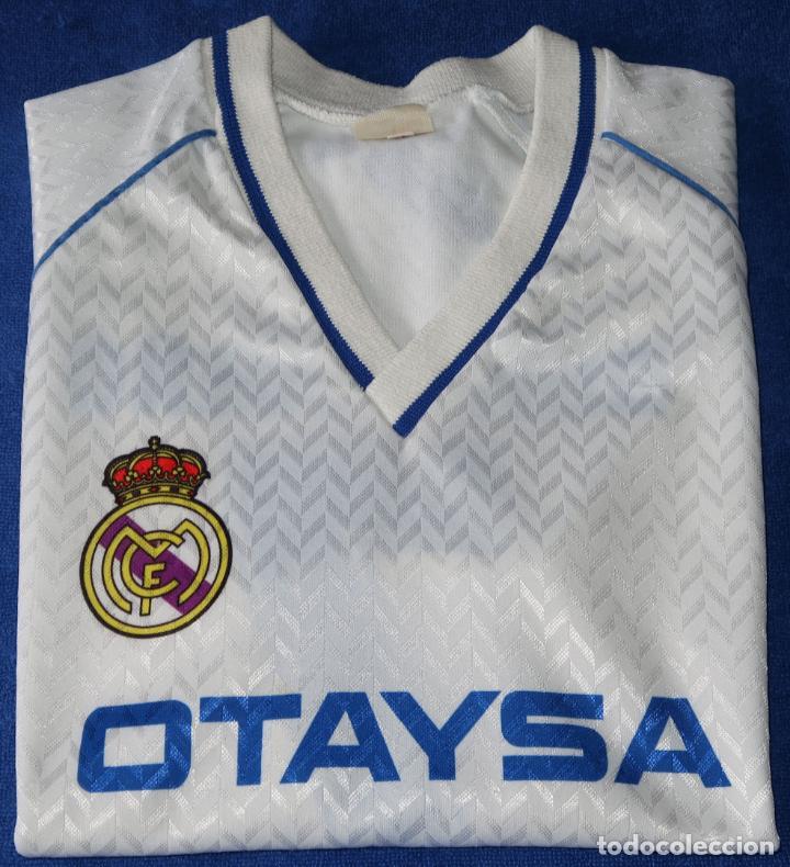CAMISETA BUTRAGUEÑO - OTAYSA - REAL MADRID (TALLA 12) (Coleccionismo Deportivo - Ropa y Complementos - Camisetas de Fútbol)