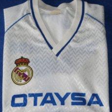 Coleccionismo deportivo: CAMISETA BUTRAGUEÑO - OTAYSA - REAL MADRID (TALLA 12). Lote 269740998