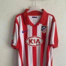 Coleccionismo deportivo: CAMISETA FORLAN DEL ATLETICO MADRID 2009/10. Lote 271583578