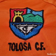 Coleccionismo deportivo: TOLOSA CF. (EXCLUSIVA MUNDIAL EN TC) MATCH WORN. Lote 272048463