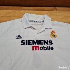 Coleccionismo deportivo: REAL MADRID CF. VINTAGE. CAMISETA PLAYER RAUL. EXCLUSIVA TC. Lote 273446213