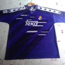 Collezionismo sportivo: CAMISETA OFICIAL DEL REAL MADRID TEMPORADA 94 / 95.KELME TEKA,2ª EQUIPACIÓN.MADE IN SPAIN.TALLA XL.. Lote 274313428