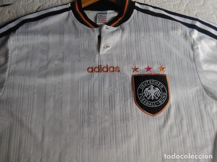 Coleccionismo deportivo: Camiseta oficial de la selección alemana, Alemania - Foto 3 - 274314818