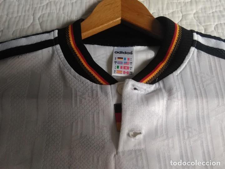 Coleccionismo deportivo: Camiseta oficial de la selección alemana, Alemania - Foto 5 - 274314818