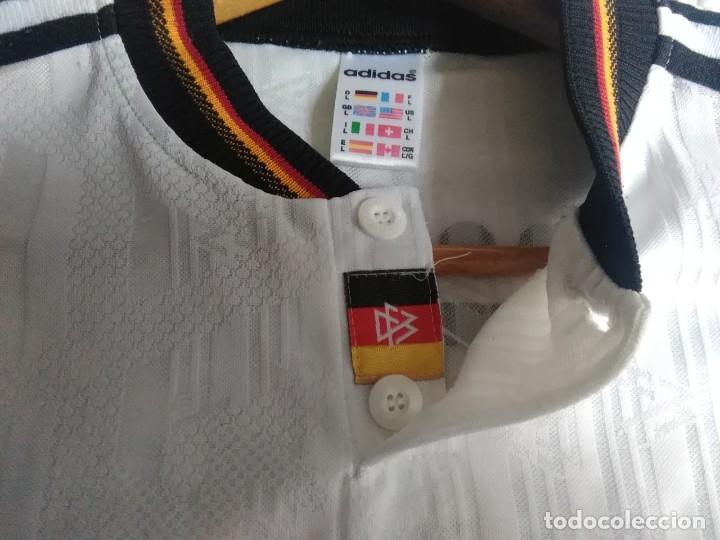 Coleccionismo deportivo: Camiseta oficial de la selección alemana, Alemania - Foto 6 - 274314818