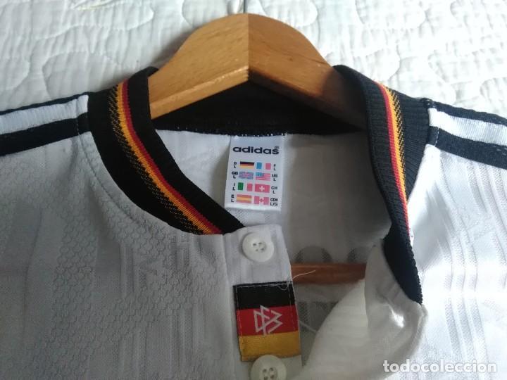 Coleccionismo deportivo: Camiseta oficial de la selección alemana, Alemania - Foto 7 - 274314818