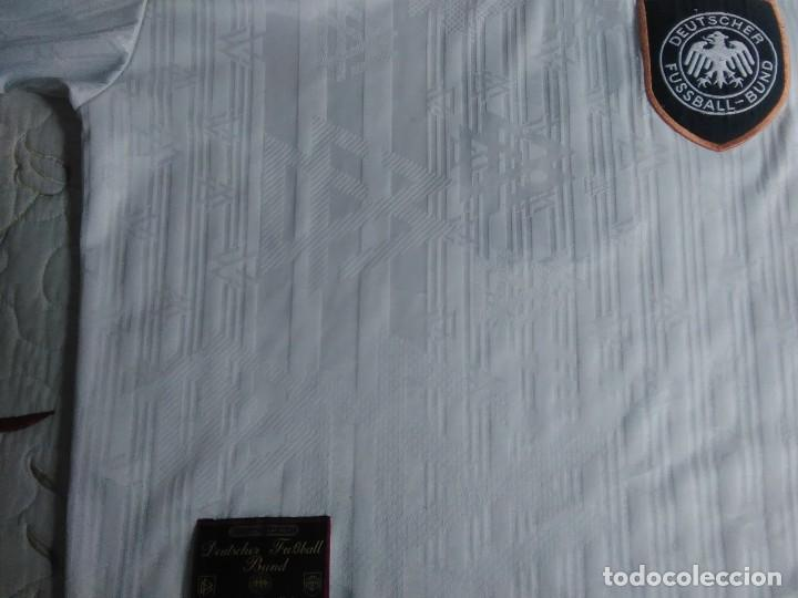 Coleccionismo deportivo: Camiseta oficial de la selección alemana, Alemania - Foto 8 - 274314818