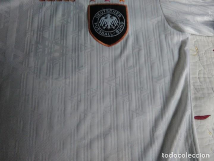 Coleccionismo deportivo: Camiseta oficial de la selección alemana, Alemania - Foto 9 - 274314818