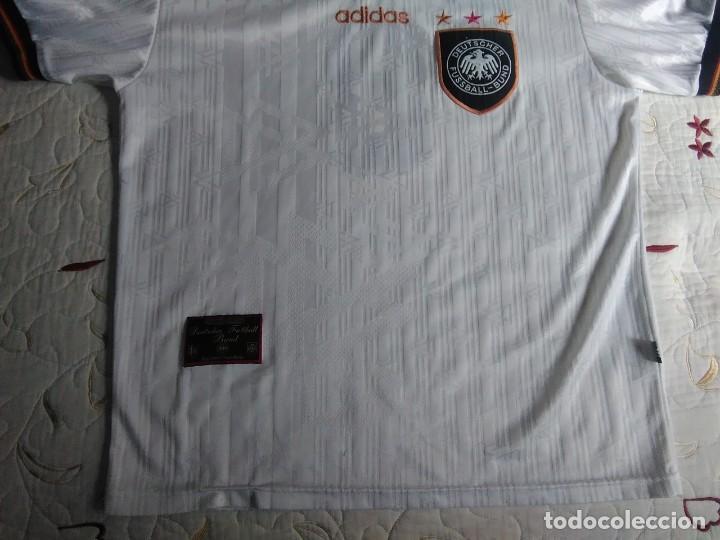 Coleccionismo deportivo: Camiseta oficial de la selección alemana, Alemania - Foto 12 - 274314818