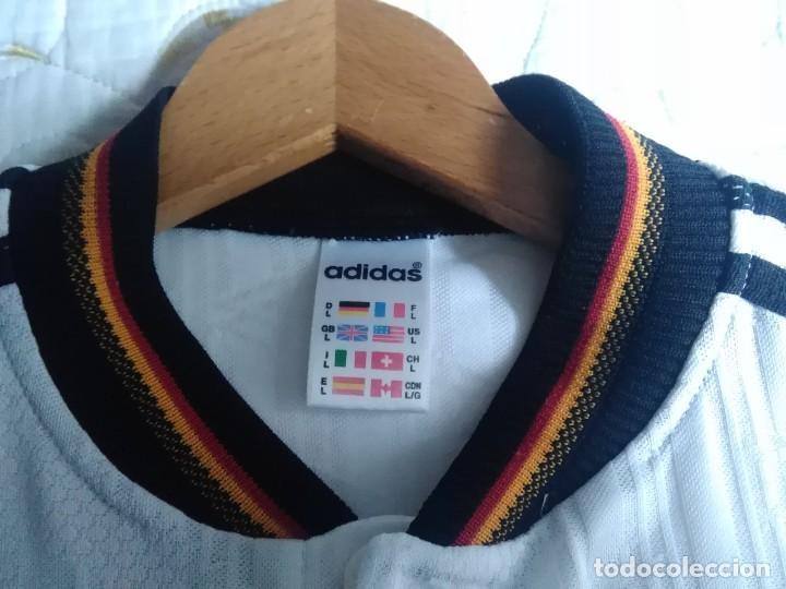 Coleccionismo deportivo: Camiseta oficial de la selección alemana, Alemania - Foto 13 - 274314818