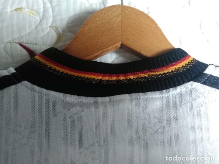Coleccionismo deportivo: Camiseta oficial de la selección alemana, Alemania - Foto 18 - 274314818