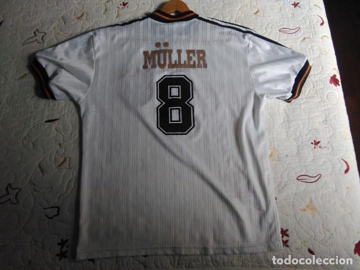 Coleccionismo deportivo: Camiseta oficial de la selección alemana, Alemania - Foto 19 - 274314818