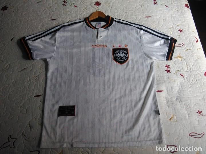 Coleccionismo deportivo: Camiseta oficial de la selección alemana, Alemania - Foto 20 - 274314818