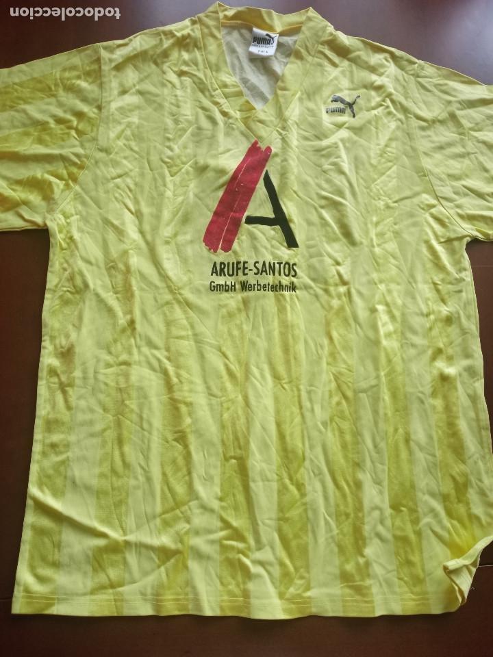 ESCHBORN VINTAGE DEUTSCHLAND PUMA 1980 L TRIKOT FUSSBALL RETRO CAMISETA SHIRT FUTBOL FOOTBALL (Coleccionismo Deportivo - Ropa y Complementos - Camisetas de Fútbol)