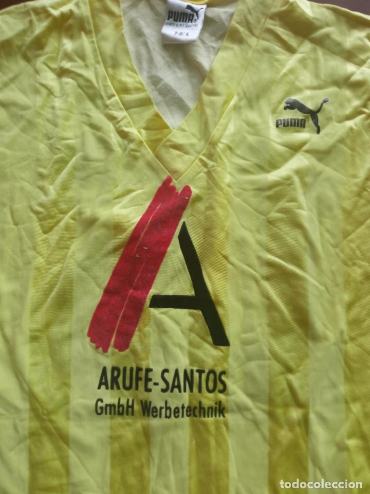 Coleccionismo deportivo: Eschborn Vintage Deutschland PUMA 1980 L trikot fussball Retro camiseta shirt FUTBOL FOOTBALL - Foto 2 - 275229603