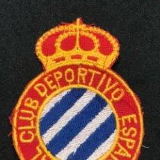 Coleccionismo deportivo: ESCUDO BORDADO DEL REAL CLUB DEPORTIVO ESPAÑOL. 1960'S.. Lote 276991143