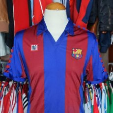 Coleccionismo deportivo: F.C BARCELONA 1984 HOME CAMISETA FUTBOL MEYBA MARADONA. Lote 277227938