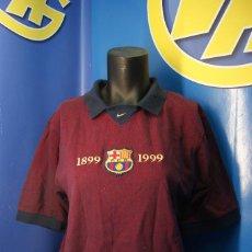 Coleccionismo deportivo: CAMISETA OFICIAL F.C.B. RETRO NIKE 1899-1999 FC BARCELONA CENTENARIO. S.. Lote 277254278
