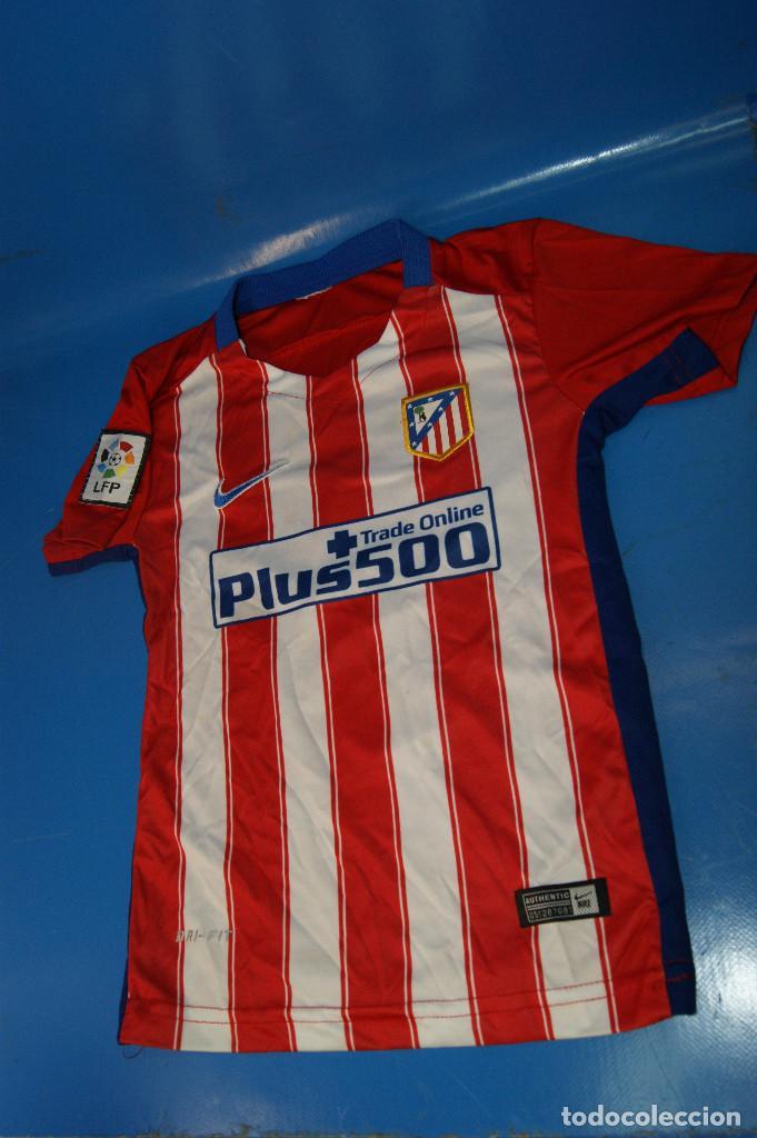 CAMISETA ATLÉTICO DE MADRID. Nº 7 GRIEZMANN. 5-6 AÑOS. NIKE. (Coleccionismo Deportivo - Ropa y Complementos - Camisetas de Fútbol)