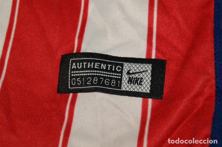 Coleccionismo deportivo: Camiseta Atlético de Madrid. Nº 7 Griezmann. 5-6 años. Nike. - Foto 2 - 277278263