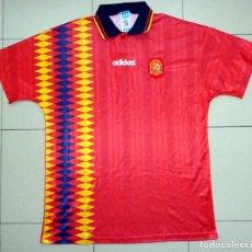 Coleccionismo deportivo: CAMISETA FÚTBOL ANTIGUA SELECCIÓN ESPAÑOLA ESPAÑA ADIDAS MUNDIAL USA 94 1994 - FOOTBALL VINTAGE. Lote 277724293