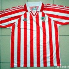 Coleccionismo deportivo: CAMISETA FÚTBOL ANTIGUA ATHLETIC CLUB BILBAO TEMPORADA 95/96 1995 1996 KAPPA - FOOTBALL VINTAGE. Lote 277724513