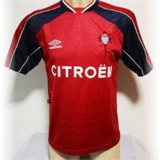 Coleccionismo deportivo: CAMISETA CELTA DE VIGO 1999/00. Lote 280235383
