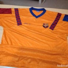 Coleccionismo deportivo: M-44 CAMISETA DE FUTBOL CLUB BARCELONA WEMBLEY 1992 NO APARECE TALLA DIRIA L. Lote 284033143