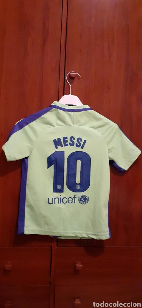 Coleccionismo deportivo: Camiseta de Fútbol de niño, talla G, número 10 MESSI - Foto 4 - 284657693