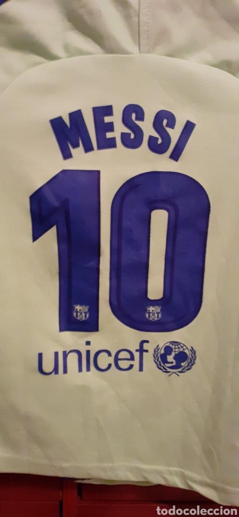 Coleccionismo deportivo: Camiseta de Fútbol de niño, talla G, número 10 MESSI - Foto 5 - 284657693