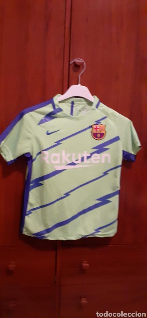 CAMISETA DE FÚTBOL DE NIÑO, TALLA G, NÚMERO 10 MESSI (Coleccionismo Deportivo - Ropa y Complementos - Camisetas de Fútbol)