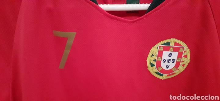 Coleccionismo deportivo: Camiseta de Portugal, RONALDO 7 - Foto 2 - 284658373