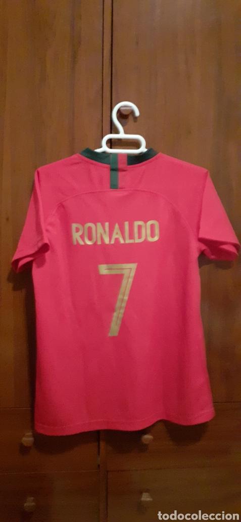 Coleccionismo deportivo: Camiseta de Portugal, RONALDO 7 - Foto 5 - 284658373