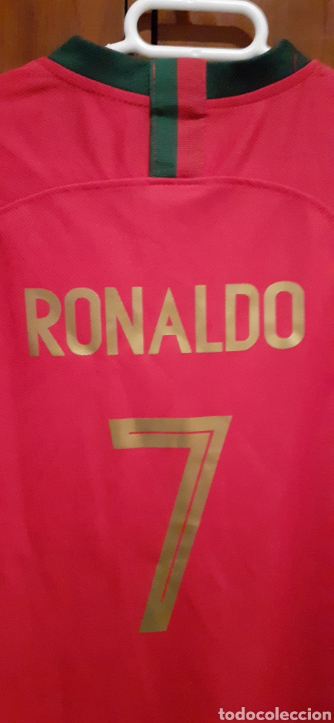 Coleccionismo deportivo: Camiseta de Portugal, RONALDO 7 - Foto 6 - 284658373