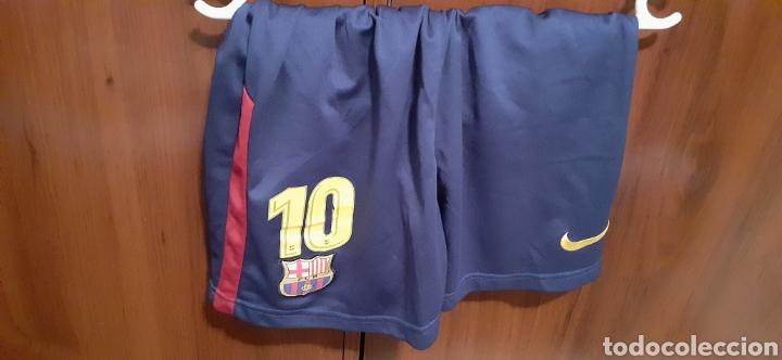 Coleccionismo deportivo: Equipacion del Barcelona,n° 10 MESSI, Talla 28 - Foto 14 - 284658818