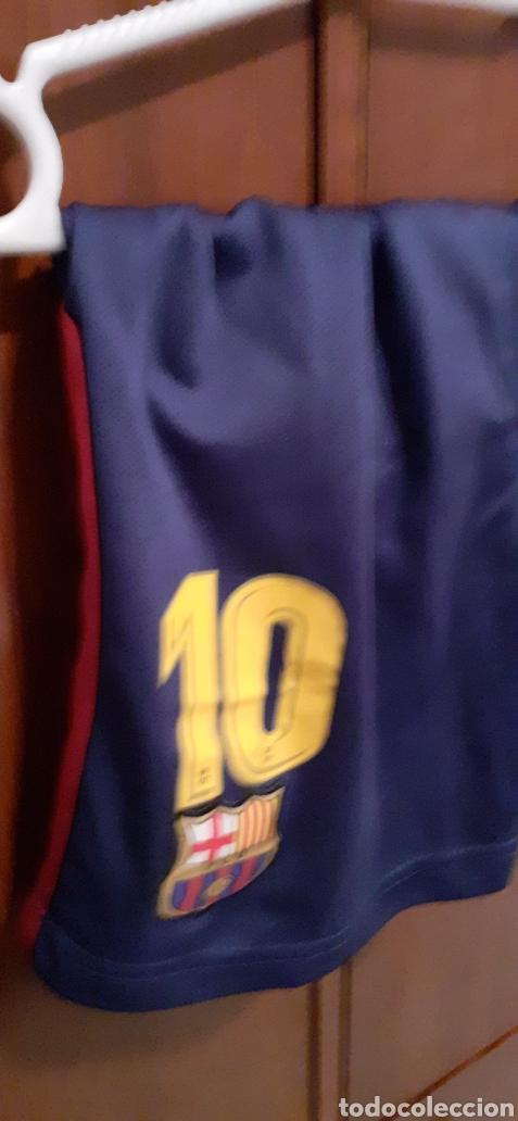 Coleccionismo deportivo: Equipacion del Barcelona,n° 10 MESSI, Talla 28 - Foto 16 - 284658818