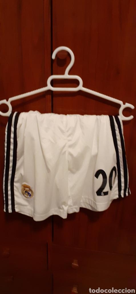 Coleccionismo deportivo: Equipacion del Real Madrid, n° 20 Asensio, talla 28 - Foto 7 - 284659128