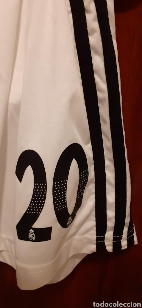 Coleccionismo deportivo: Equipacion del Real Madrid, n° 20 Asensio, talla 28 - Foto 9 - 284659128